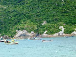 Ingleses Beach in Florianopolis