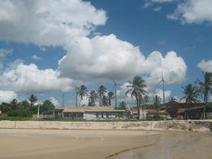 Fontes Beach in Fortaleza