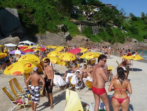 Beaches in Rio de Janeiro – Tourist Map Of Rio De Janeiro