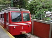 Cog train to Christ the Redeemer